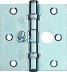 Afbeelding van Bsw VBB802GV veiligheid kogellager scharnier ronde hoek gegalvaniseerd, 76 x 76 x 2.2 mm SKG**