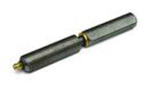 Afbeelding van Aanlaspaumelles met smeernippel, 100 mm, blank staal, stalen pen, messing ring