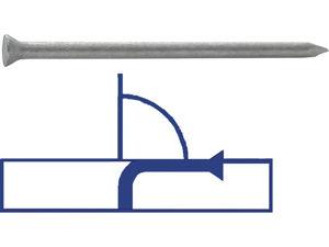 Afbeelding van Buigzame nagels, 3.0 x 40 mm, staal