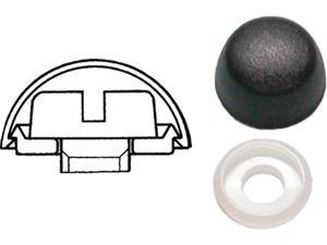 Afbeelding van Kapring nylon, 14.8 x 6.4 x 12.8 mm