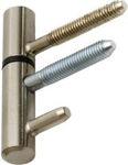 Afbeelding van DX Inboorpaumelle hout, 14 mm, insteek, staal, rvs finish