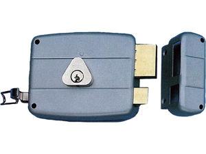 Afbeelding van Cisa voordeur oplegslot, doornmaat 60 mm, vaste cilinder, rechts