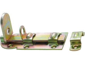 Afbeelding van Gb deurschuif hangslot, 120 x 56 mm, elektrolytisch gegalvaniseerd, verzinkt