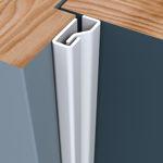 Afbeelding van Secu secustrip plus, 2050 mm, t.b.v. voordeuren, binnendraaiend, bruin, ral 8014