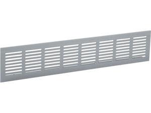 Afbeelding van Renson ventilatiestrip, 300 x 100 mm, inbouw, naturel, aluminium