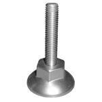 Afbeelding van Hermeta Stelvoet 5621 m10, 50 mm, aluminium