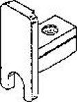 Afbeelding van Eindkap, t.b.v. loopschoen, aluminium
