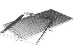 Afbeelding van Matrand, 51 x 71 cm, profiel 25 x 25 x 2.5 mm, thermisch gegalvaniseerd, verzinkt