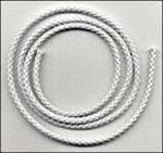 Afbeelding van Jalouziekoord, 2.2 mm, 20 meter, wit
