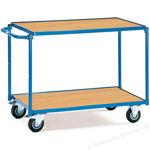 Afbeelding van Fetra tafelwagen met laadvlak, 100 x 60 cm