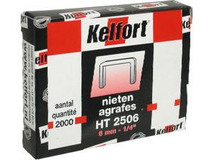 Afbeelding van Kelfort nieten ht25, 6 mm, verpakking 2000 stuks
