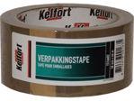Afbeelding van Kelfort verpakkingstape, 48 mm, 66 meter, rol, bruin