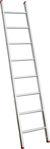 Afbeelding van Kelfort enkele ladder, 1x8, 3411, recht, aluminium