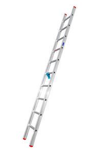 Afbeelding van Kelfort enkele ladder, 1x10, 3411, recht, aluminium