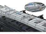 Afbeelding van Kelfort ladder-autodakdragerset, verpakking 2 stuks, inclusief hangslot