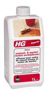 Afbeelding van Hg cementsluierverwijderaar limex, 1 liter, verwijdert mortelresten en salpeteruitslag van poreuze tegel en plavuizen