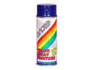 Afbeelding van Motip lakspray hoogglans, 400 ml, ral 5010, donker blauw