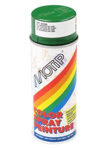 Afbeelding van Motip lakspray hoogglans, 400 ml, ral 6002, groen