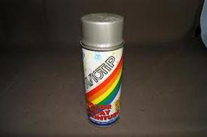 Afbeelding van Motip lakspray hoogglans, 400 ml, ral 7001, zilver grijs