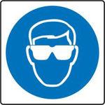 Afbeelding van Bord pvc oogbescherming  200mm