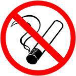 Afbeelding van Arbo sticker roken verb. 200mm