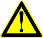 Afbeelding van Arbo bord pvc gevaar     200mm