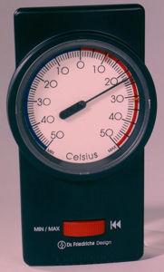 Afbeelding van Min-max. thermometer zwart   150x88