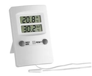 Afbeelding van Binnen/buitenthermometer   digitaal