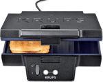 Afbeelding van Krups tosti ijzer zwart fdk452 850W