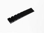 Afbeelding van Meubelwig 100x20x8/1 mm zwart (100)