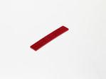 Afbeelding van Glaswiggen 100x18.5x3mm rood (100)