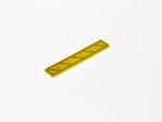 Afbeelding van Glaswiggen 100x18.5x4mm geel (100)