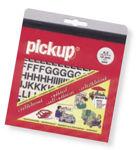 Afbeelding van Pickup cijfer 0 zwart , 60 mm
