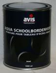 Afbeelding van Avis schoolbordenverf aqua     1ltr