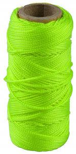 Afbeelding van Metselkoord fluor groen 1mm 50m
