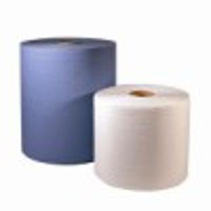 Afbeelding van Zettex blauw papier groot     2 rol