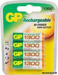 Afbeelding van Gp oplaadb.batterij(4)  r06 1300mah