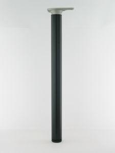 Afbeelding van Buispoot rond 60mm zwart      710mm