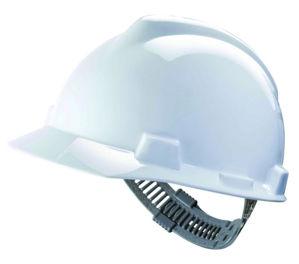 Afbeelding van Msa bouwhelm v-gard             wit