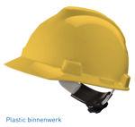 Afbeelding van Msa bouwhelm v-gard            geel