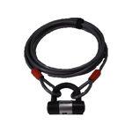 Afbeelding van Doublelock cable lock, 10 mm, 5 meter