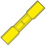 Afbeelding van Kabelschoen geel          hsk4652sk