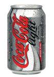Afbeelding van Coca cola light blik 33cl.(24)
