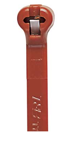Afbeelding van Ty-rap kabelbinder bruin  4.8x295mm