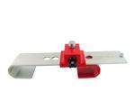 Afbeelding van Doublelock container slot, scm goedgekeurd, rood