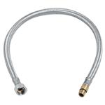 Afbeelding van Flexibele knel aansluitkoppeling, 35cm, 12x10mm