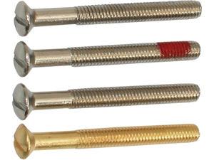 Afbeelding van Kelfort patentbout messing / nikkel, M4 x 45