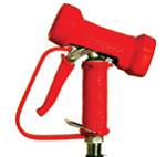 Afbeelding van Water gun rood rvs          1/2 bsp