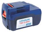 Afbeelding van Lincoln accu powerluber  li-ion 18v