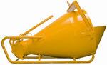 Afbeelding van Betonstortkubul lig.geel     600ltr